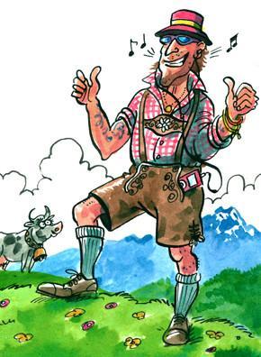 Alpine dress: The Lederhosen boom