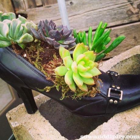 High Heel Shoe Planter