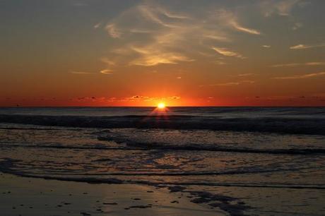 on a beautiful sunrise...