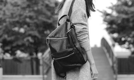 square backpack pebbled faux leather alexander wang on a budget