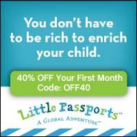 Daily Deal: Save 40% on Little Passports Subscription!
