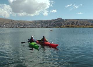 Explorers To Circumnavigate Lake Titicaca By Kayak