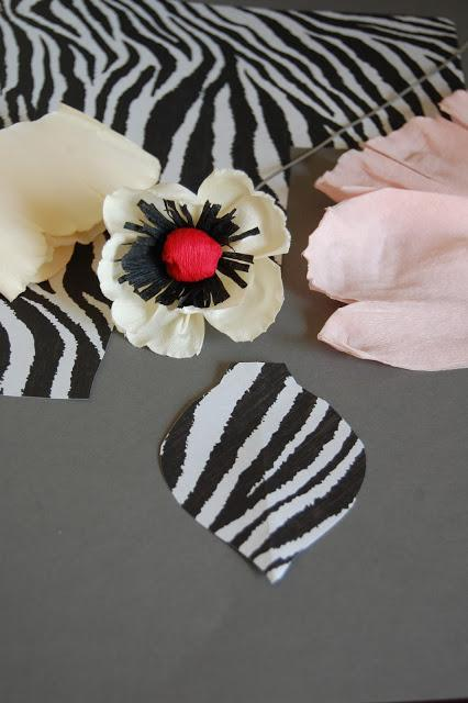 easy crepe paper flower tutorial