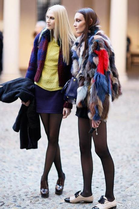 nyc-ontheroad:  fashion-clue:  www.fashionclue.net  Fashion/stree...