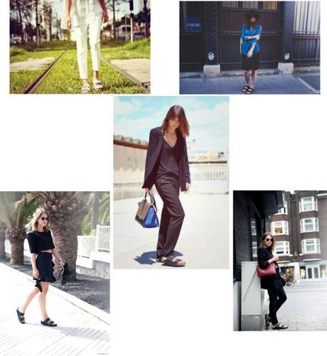 Fashion Girls wearing Birkenstocks