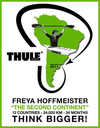 Freya Hoffmeister Continues Kayaking Expedition Around South America