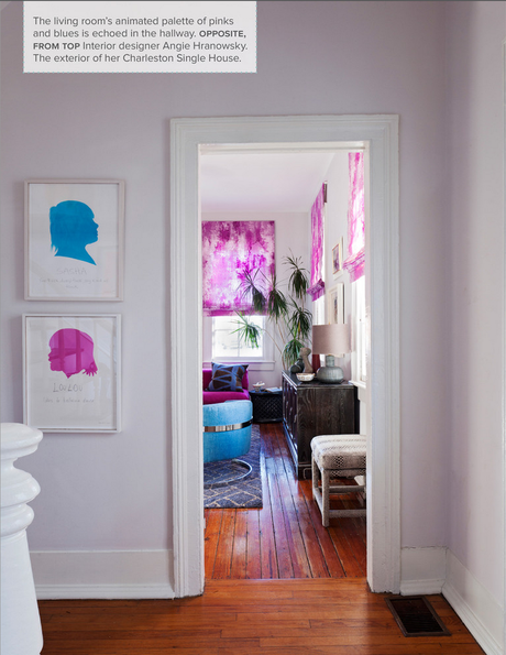 Tour the home of one of my favorite designers, Angie Hranowsky