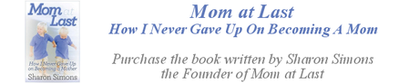 Purchase the Mom at Last Book on Mom at Last