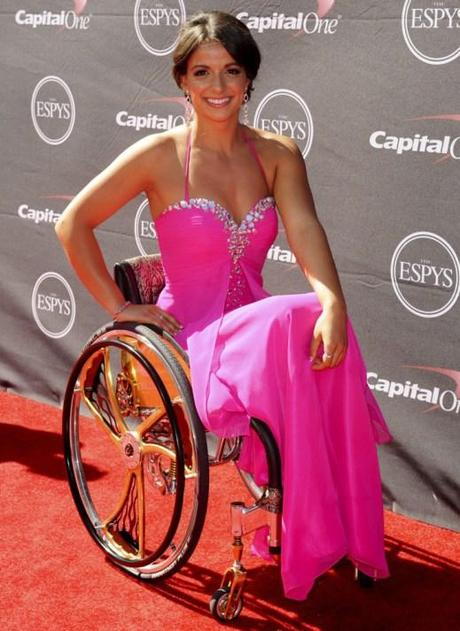 Victoria Arlen at the ESPYS