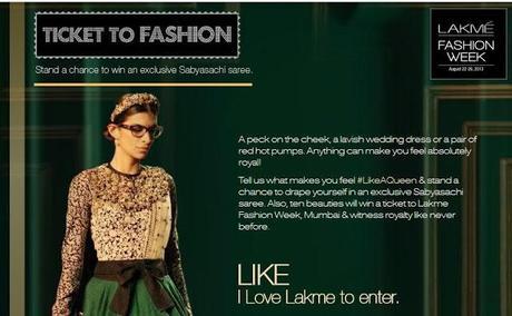 Lakme Fashion Week Contest