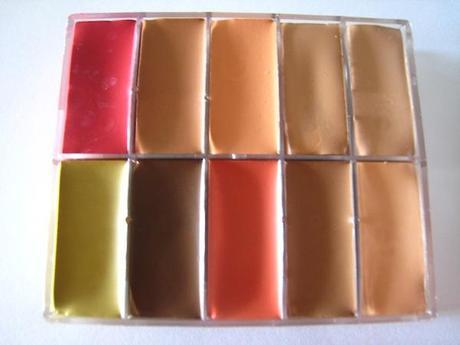 MaqPro Fard Creme pp02 foundation Maqpro Fard Creme Palette PP02 Swatches