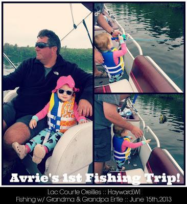 * Avrie's BIG catch!