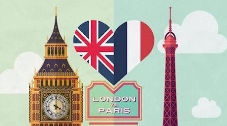 London Vs Paris Infographic: The Urban Head-To-Head