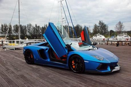 Fancy cars come to Miri