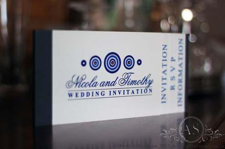 Bari bespoke booklet wedding invitation