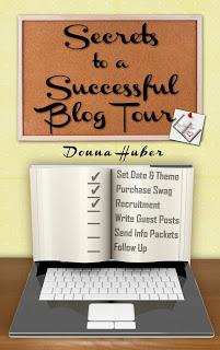 Secrets to a Successful Blog Tour by Donna Huber