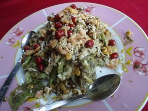 tea leaf salad myanmar