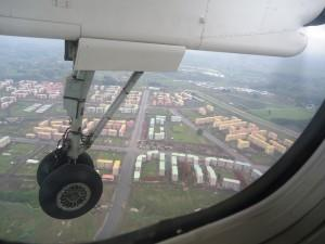 flying into addis ababa