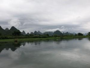 bamboo rafting in china