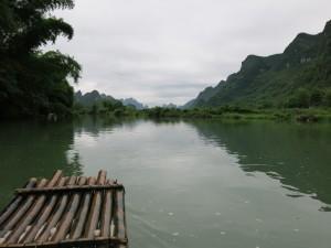bamboo rafting yangshuo china