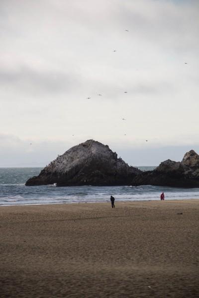 ocean beach 400x600 San Francisco: Twin Peaks and the Cliff House