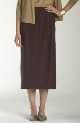 Wearever long wrap-style skirt