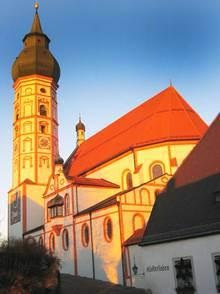The pilgrimage church at Kloster Andechs (Picture from www.andechs.de)