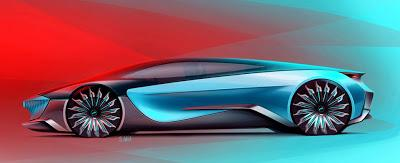 Supercar design proposal by Scott Weibnicht