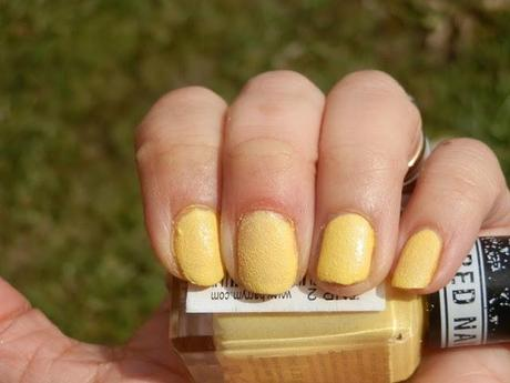 Barry M Textured Nail Polish Station Road Swatches