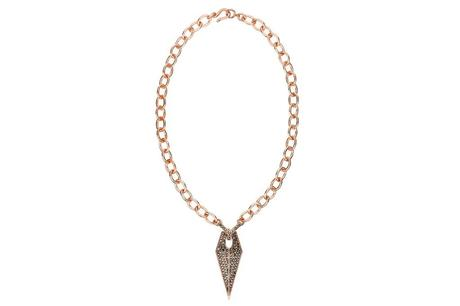 Rebecca Minkoff Jewelry Resort 2014 Arrowhead chain