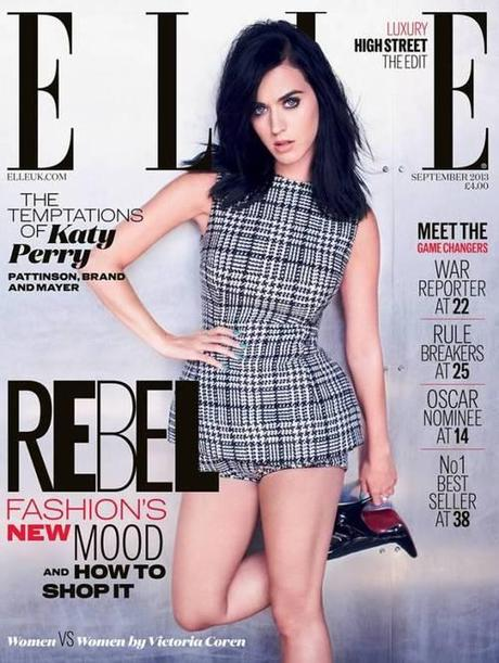 goshdarnit:    Singer:  Katy Perry  Issue:  ELLE UK | September...