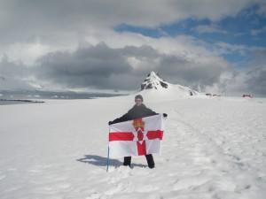 antarctica northern ireland flag