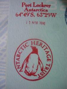 antarctica stamp