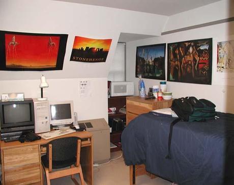 Sharp Hall Dorm Room