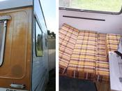 Little Vintage Caravan Project Clearing Old…