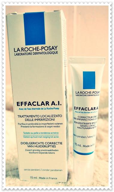 Review on La Roche Posay: Effaclar A.I. Targeted Breakout Corrector