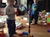 Tower Building With Twins