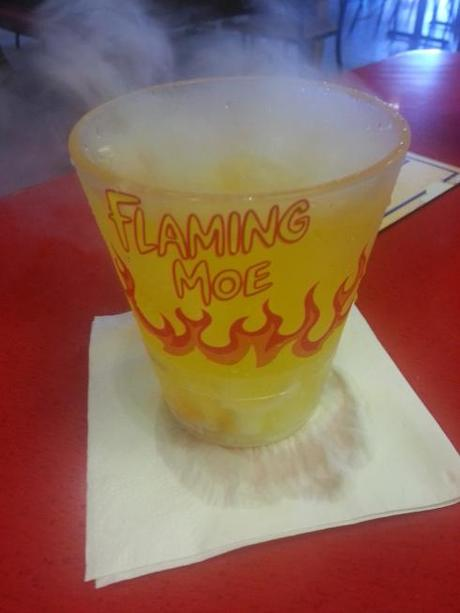 The Flaming Moe up close.