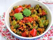 Pepper Besan Curry (Capsicum Chickpea Flour Curry)