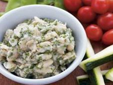 Weight Loss Recipe: White Bean, Veggie Herb Hummus