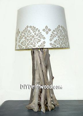 Driftwood Lamp instructions