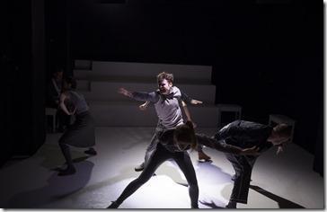 Aaron Stephenson as Alan in Pink Milk, Oracle Theatre