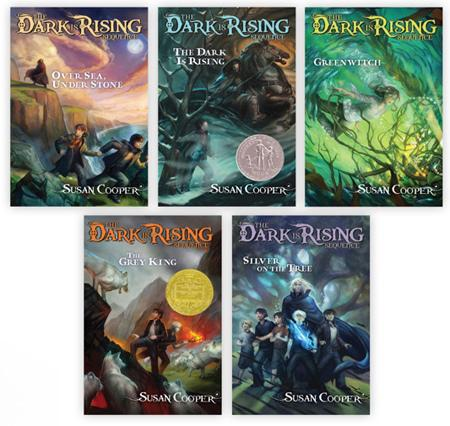 Image result for the dark is rising book series