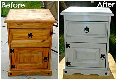My first furniture makeover!