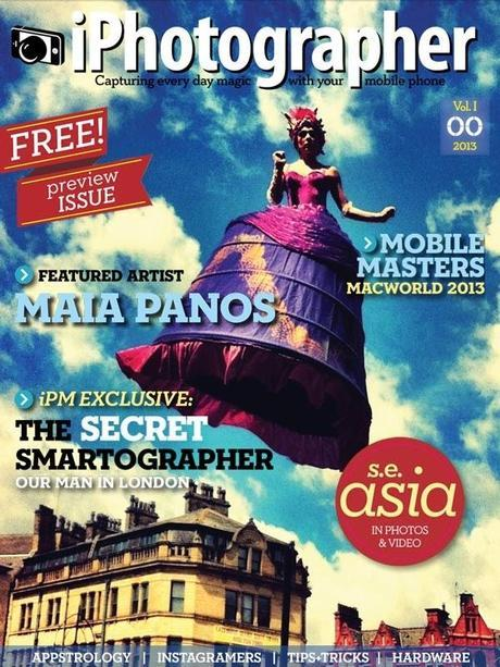 FREE Preview Issue of iPhotographer Magazine