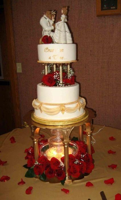 wedding cake beauty and the beast and the beast wedding theme paperblog 22000