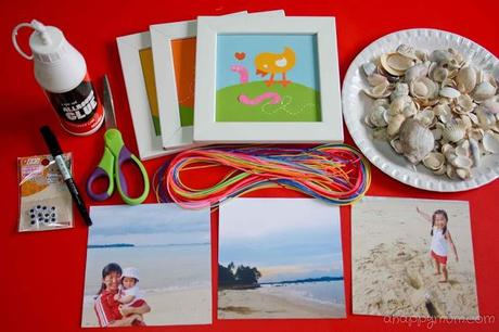 Creativity 521 {linky party} #28 - She sells seashells by the seashore