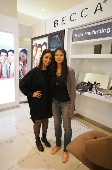Becca costmetics makeup services makeover