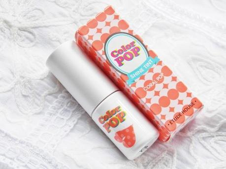 REVIEW | Etude House Color POP Shine Tint #04 Coral Pop
