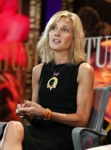 Gass, president of Starbucks EMEA, speaks about leadership at Fortune's Most Powerful Women Summit in Laguna Niguel